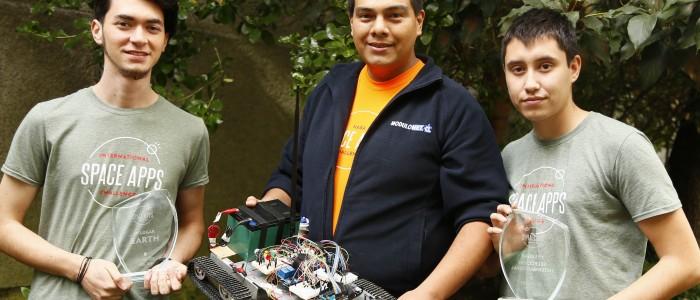 El robot chileno que compite en la NASA