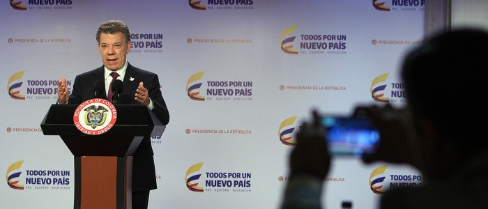 """La estrategia de Santos tras el """"No"""" en Colombia"""