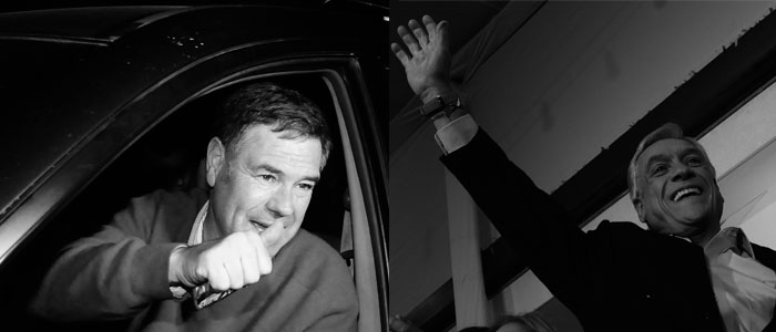Piñera y Ossandón: los que generaron más emociones