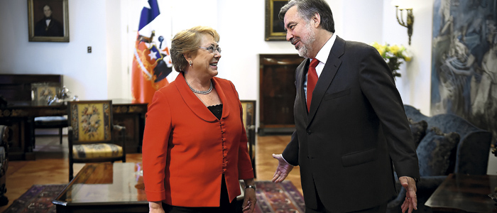 El dulce noviembre de Bachelet
