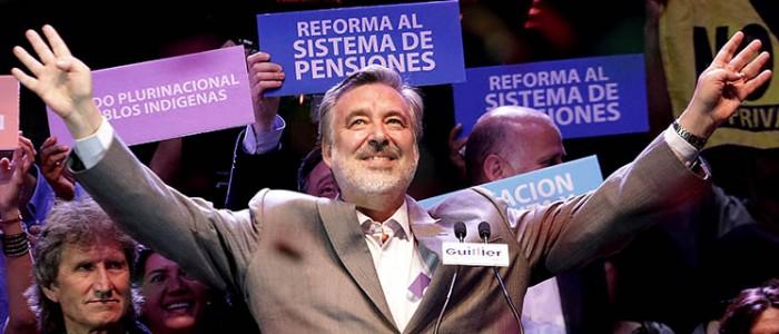 La performance presidencial de Guillier