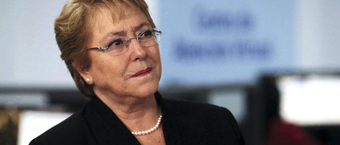Bachelet no descansará en defender reformas
