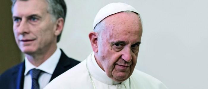 El Papa no quiso saber de Bolivia-Chile