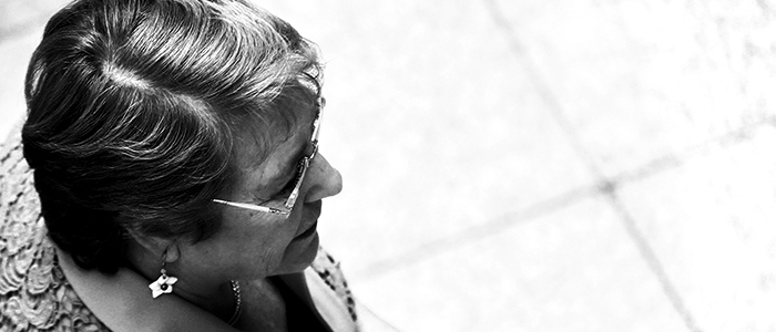 Bachelet  sin La Moneda